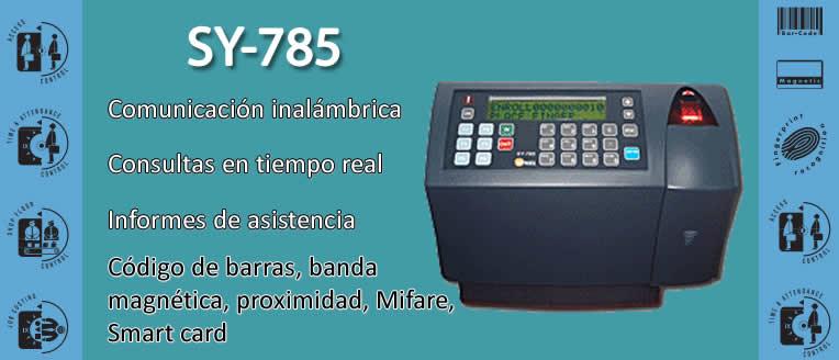 Lector biométrico de tarjeta de proximidad SY-785, HID Medifire | Control de acceso y asistencia