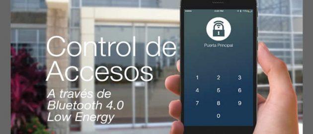 Sharlock control de acceso con teléfono celular | Sistemas Sintel