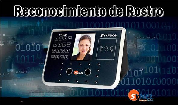 Lector reconocimiento facial Sy Face | Control de acceso y asistencia