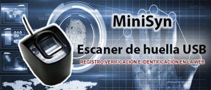 Lector de huella digital USB | Control de acceso y asistencia