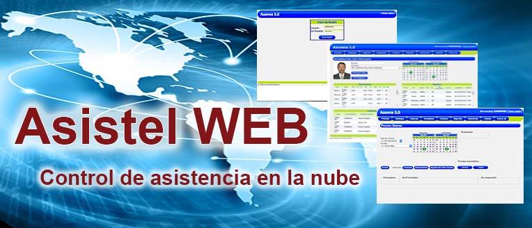 Asistel WEB Sistema de control de asistencia en la nube | Sistemas Sintel