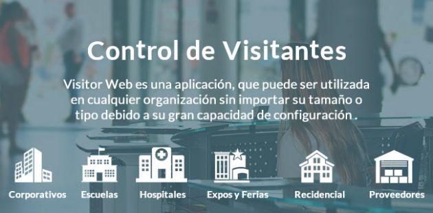 Visitor Web control de visitantes local y en la nube | Control de acceso