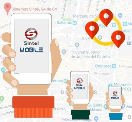 Registro de empledados fura de las oficinas | Sintel MOvile