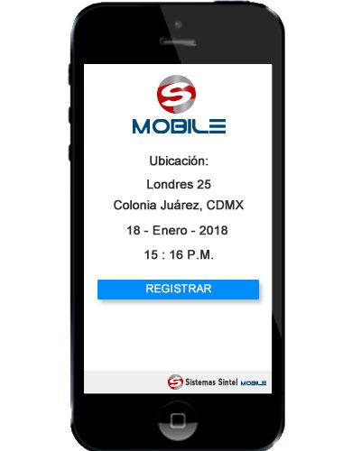 Registro de Empleados App | Sintel Mobile