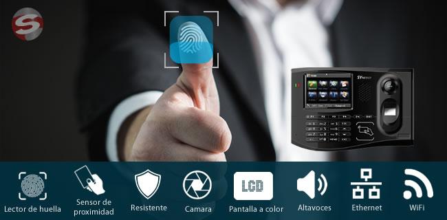 Lector Biométrico de huella digital y tarjeta de proximidad