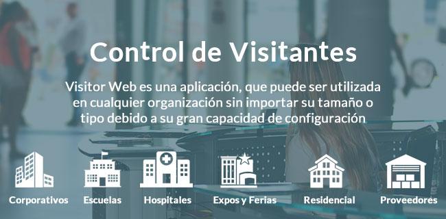 Control y gestión de visitantes web