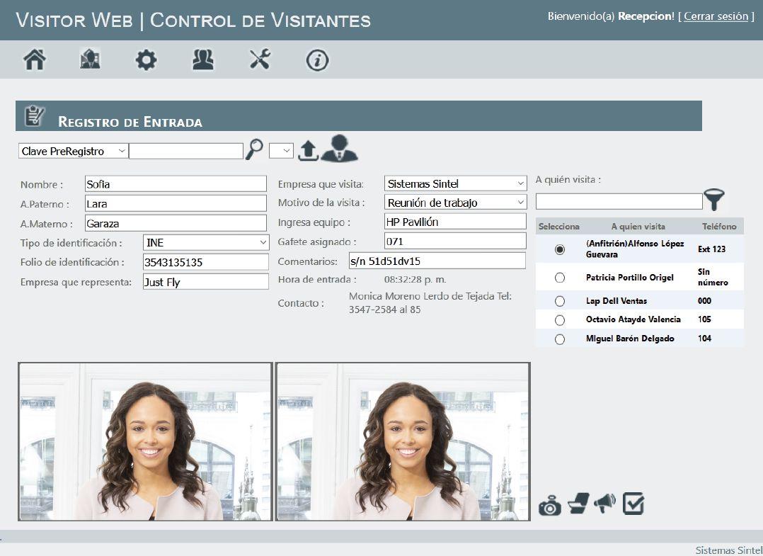 Control y registro de visitantes | Software para la gestión y acceso de visitantes