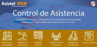 Sistema de control de asistencia y puntualidad empresarial | Asistel Web