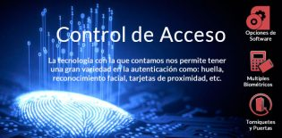 Control de acceso con biométricos, proximidad, código de barras| Sistemas Sintel