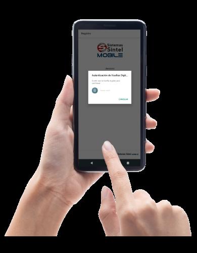 Registro de asistencia desde celular por huella | Sistemas Sintel